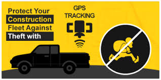 GPS vehicle tracking systems installed in construction equipment benefits via easy recovery of stolen assets